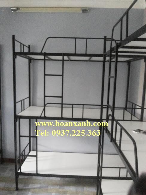 www.mangraovat.com: Giường 3 tầng vạt sắt, giường 3 tầng sinh viên