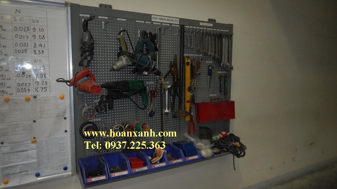 Bảng treo dụng cụ cơ khí, bảng treo dụng cụ